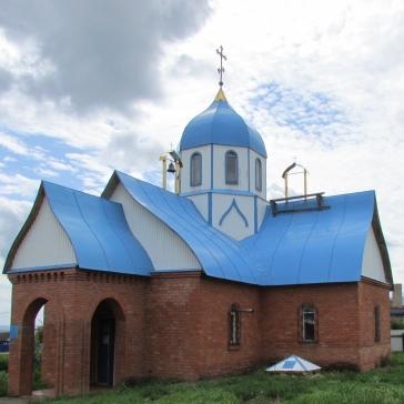 Храм Белозерских святых с.Белое озеро